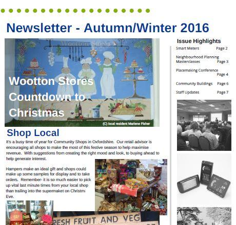 CFO Autumn/Winter Newsletter 2016