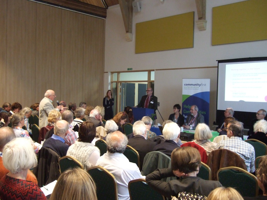 Community First Oxfordshire conference 2015