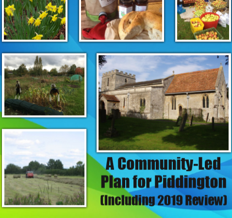 Piddington's Community Led Plan Completed – an inspiring achievement…