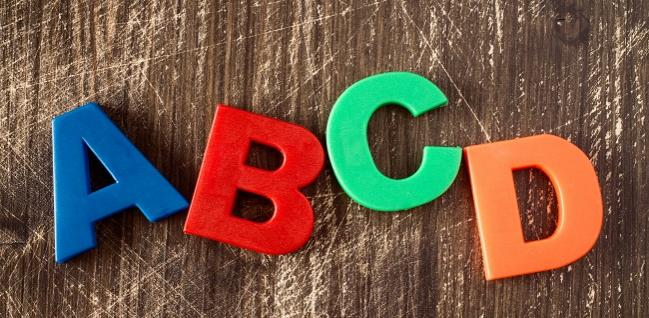ABCD – putting meaning in the acronym feature