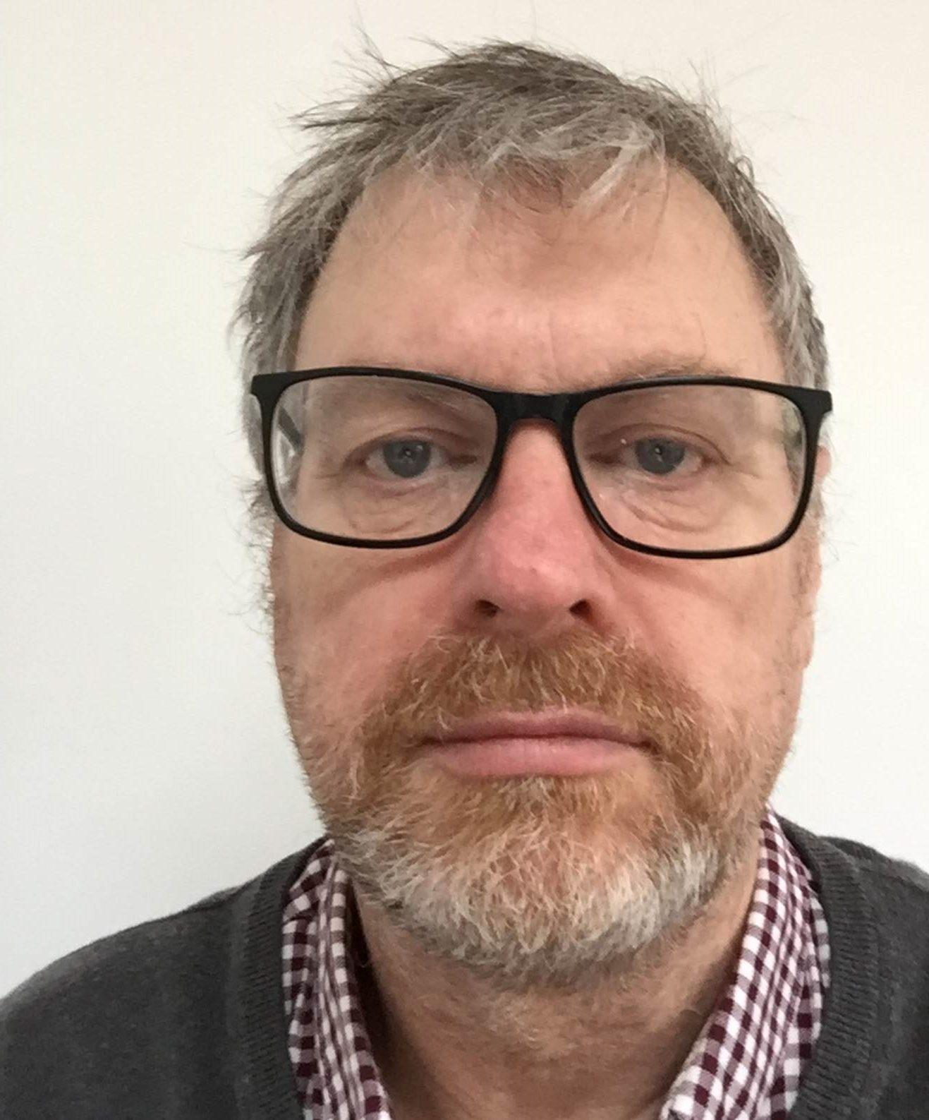 Face of Stephen Mckenna