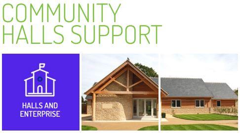 Community Halls feature