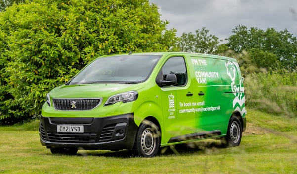 Oxford City Community Van to hire feature