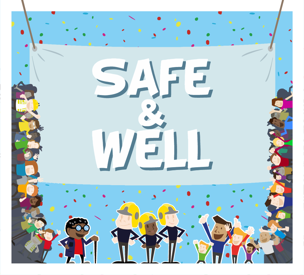 Fire Service – Safe and Well Campaign feature